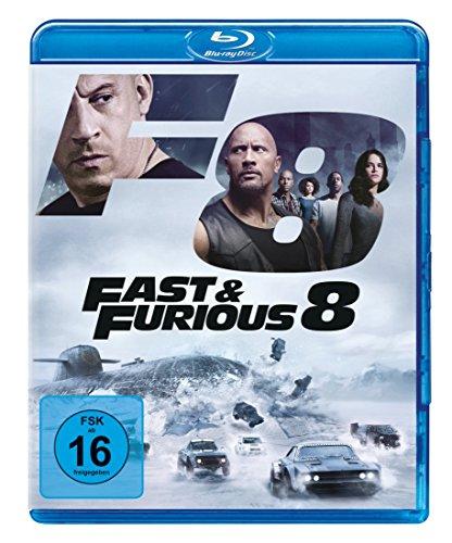 fast 7 blu ray Fast & Furious 8 [Blu-ray]
