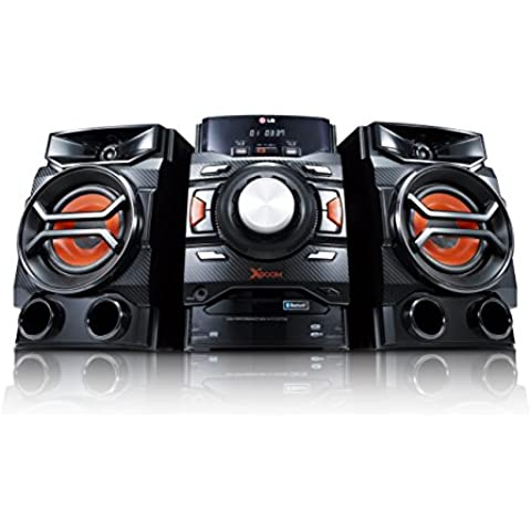 LG CM4350 - Equipo Hi-Fi Cm4350 Con Cd, Radio, Usb Recording Y Bluetooth