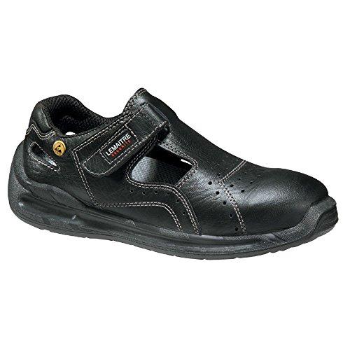 schwarz S1 Verarbeitungsqualität Sicherheit nbsp;ESD Lemaitre Sandale SRC q0zaR