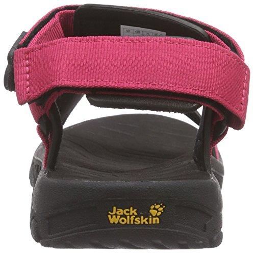 Jack Wolfskin Seven Seas Women, Sandales de sport femme Rose - Pink (azalea red plain 2085)