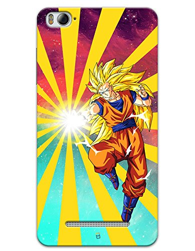 Xiaomi Mi 4i Cases & Covers - Dragon Ball Z Goku Raging Blast Case by myPhoneMate - Designer Printed Hard Matte Case - Protects from Scratch and Bumps & Drops.  available at amazon for Rs.439