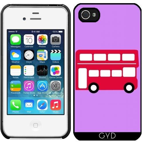 Leder Flip Case Tasche Hülle für Apple iPhone 6/6S - Groß Rot by ilovecotton Starre Kunststoff