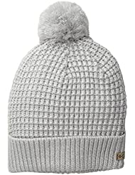 Columbia Women's Mighty Lite gorra, mujer, color Hueso - Sea Salt/Cool Grey, tamaño talla única