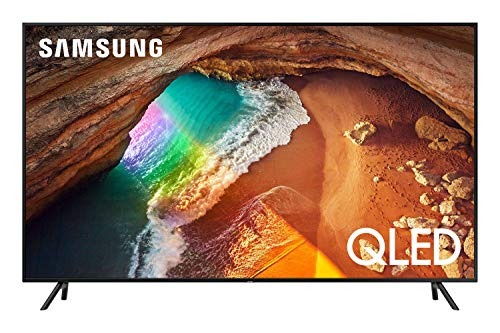 Samsung Q60R 207 cm (82 Zoll) 4K QLED Fernseher (Q HDR, Ultra HD, HDR, Twin Tuner, Smart TV) [Modelljahr 2019] 82