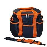 Kerbl Borsa per accessori–blu navy/arancione