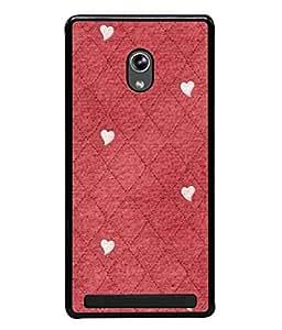 PrintVisa Designer Back Case Cover for Asus Zenfone 5 A501CG (Decorative Christmas Resurface Elegance Scratched Structure Beautiful Valentine)