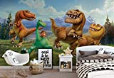 Disney Gut Dinosaurier - Wallsticker Warehouse - Fototapete - Tapete - Fotomural - Mural Wandbild - (3170WM) - XL - 208cm x 146cm - VLIES (EasyInstall) - 2 Pieces