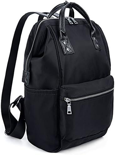 UTO Zaino Scuola Neutro Borsa da Viaggio per Scuola in in in nylon borsa a mano Nero | In Linea  | Specifica completa  4ff1e9