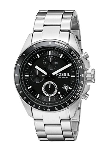 fossil-decker-mens-quartz-watch-with-black-dial-and-silver-stainless-steel-bracelet-ch2600
