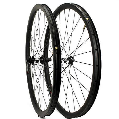 Yuanan 1380 g Only 29er MTB Carbon Wheel Cross Country XC Mountainbike Wheel Set mit DT 350 Center Lock oder 6 Bolt Nabe
