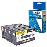 Fimpex Wiederaufbereitet Tinte Patrone Ersatz für HP Officejet Pro 7740 8210 8218 8710 8715 8716 8718 8720 8725 8728 8730 8740 -953XL (BK/C/M/Y, 5-Pack)