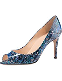 9e97f2c874e8c5 Suchergebnis auf Amazon.de für  Blaue Lack Peeptoes - Schuhe  Schuhe ...