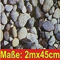 Klebefolie Fotofolie Steine 2mx45cm von Kaiman - TapetenShop