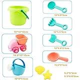 10 Pcs Creative Beach Toys Plastic Bathing Playing Sand Dredging Kids Beach Sandbox Toy Set Playing Toys For Children