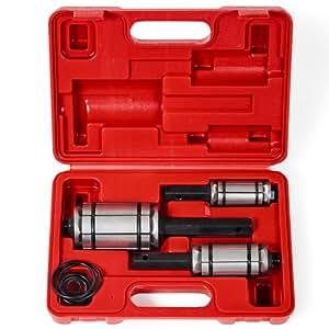 TecTake Outil expandeur élargisseur de tuyau de pot d'echappement set d'outils 3 pièces