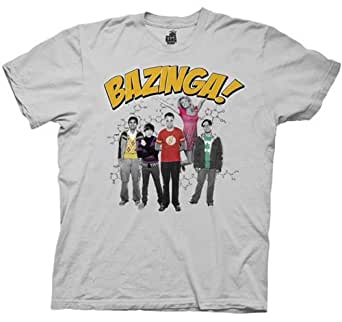 The Big Bang Theory - Bazinga Group Shirt, Small