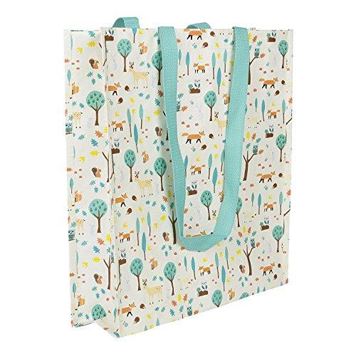 Sass & Belle Kunststoff Einkaufen Umhängetaschen Tote Bag - Whimsical Wald Woodland (Tote Bag Bella)