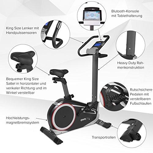 SportPlus Ergometer SP-HT-9600-iE - 4