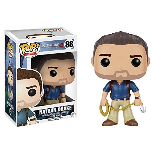 Funko - POP Games - Uncharted - Nathan Drake