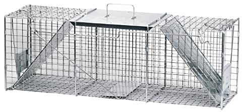 Havahart 1045 Large Live Animal Professional Style 2-Doors Nuisance Animals Cage Trap