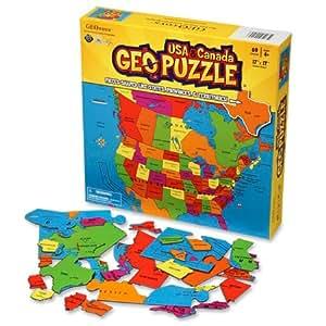 Geopuzzle Usa & Canada