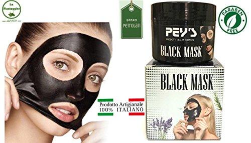 Newsbenessere.com 51mrbAQ5qFL BLACK MASK maschera nera al carbone SENZA PARABENI E PETROLATI 100% NATURALE E ITALIANA