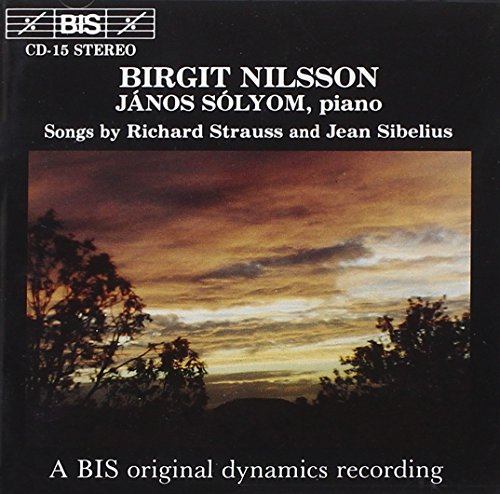 Songs By Strauss And Sibelius