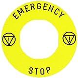Schneider elec pic - mss 40 17 - Etiqueta para kit enclavamiento am emergency stop