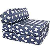 Gilda JAZZ CHAIRBED - KIDS PRINTS Deluxe Single Chair z Bed Futon