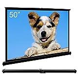 "Best Portable Projection Screens - Cocar 50"" Portable Projection Screen for Mini/Professional LED/LCD/DLP Review"