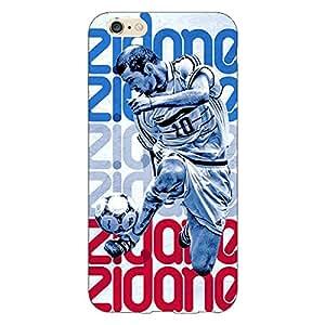 Jugaaduu Real Madrid Zidane Back Cover Case For Apple iPhone 6 Plus