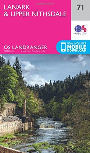 Books Landranger (71) Lanark & Upper Nithsdale (OS Landranger Map)