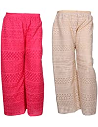 IndiStar Women Combo Pack (Pack Of 2 Georgette Pallazo With Astar)