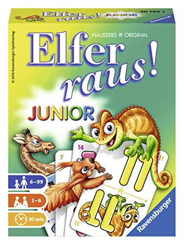 Ravensburger 20760 - Junior Elfer raus!