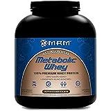 MRM, Lactosérum métabolique, la première lactosérum de protéine à 100 %, riche en chocolat, 5,0 lb (2270 g)