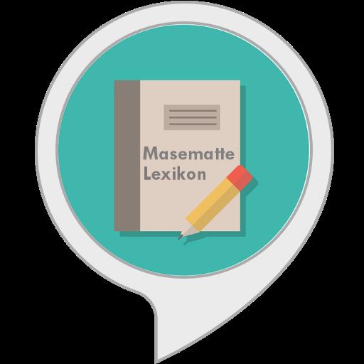 Masematte Lexikon (Kostenlose Wörterbuch-app)