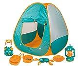 Inside Out Toys - Set de acampada y cocina de juguete para niños - Juego de imitación