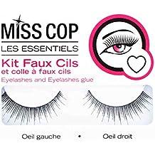 Kit Faux Cils Naturels Miss Cop