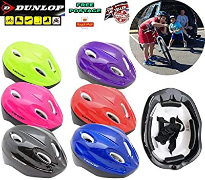 Paulstore DUNLOP Kids Bike Helmet 48-54cm Helmet Hard Hat for Kids Boys Girls Unisex by Paulstore