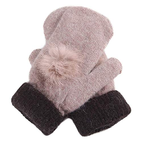 51mrlbyybgL. SS500  - Gloves Female Winter Korean Version Student Velvet Keep Warm Knitting Wool Cycling Riding One Size GAOFENG