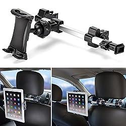 Prenez la route avec notre nouveau kit iKross support appuie-tête de voiture unversel.   Installation rapide et facile dans toutes sortes de voiture avec l'appuie-tête, transfomer votre appareil électronique à un cinéma en voiture. Attacher-le commod...