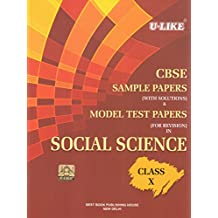 U-Like CBSE Social Science Sample Papers with Solutions for Class 10
