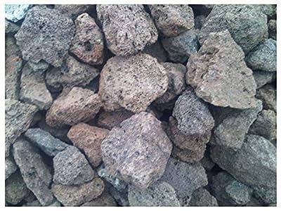 Der Naturstein Garten 25 kg Grill Lava Steine 16-32 mm - Gasgrill Elektrogrill Lavastein Lavasteine Schneckenschutz Kiesel Aquarium - LIEFERUNG KOSTENLOS