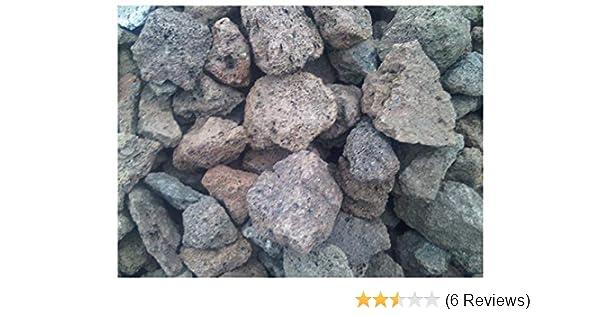 5 kg Lava Steine 40-150 mm Lavastein Lavasteine Aquarium Kiesel Gasgrill