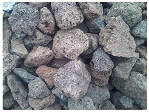 Der Naturstein Garten 10 kg Lava Steine 40-150 mm - Gasgrill Elektrogrill Lavastein Lavasteine Kies Kiesel Aquarium - Lieferung KOSTENLOS