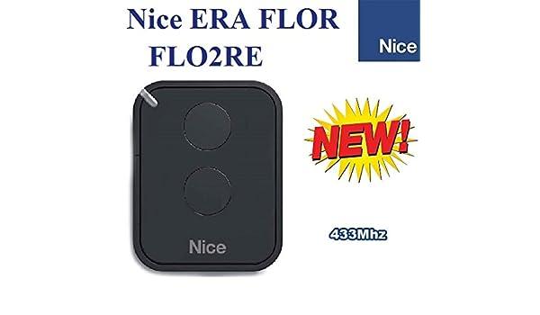 Fernbedienung 4 Kanal 433MHz kompatibel mit Nice One Handsender Nice Flors