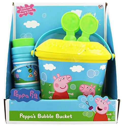Peppa-Schwein-nicht Spill-Blasen-Eimer mit Lösung