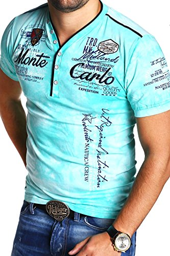MT Styles 2in1 T-Shirt P-Extend Polo R-2892 [Grün, L]