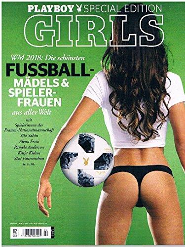 Playboy Special Edition 2018 Die schönsten Fussball Mädels (College Bettwäsche)