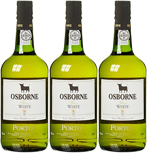 Osborne White Port Sherry (3 x 0.75 l)